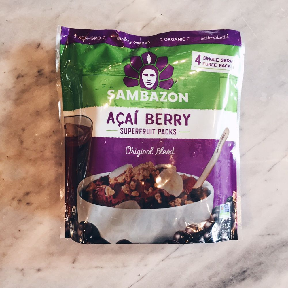 Frozen Acai Packets Whole Foods